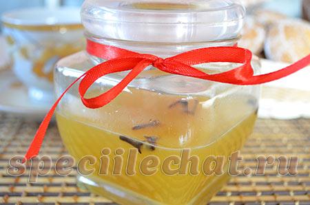 Имбирь с медом от простуды. Рецепт